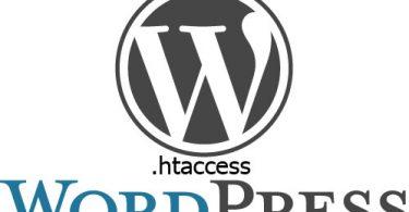 Wordpress htaccess dosyası