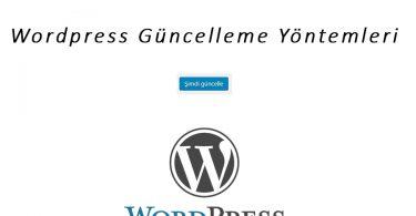 Wordpress Güncelleme Yöntemleri